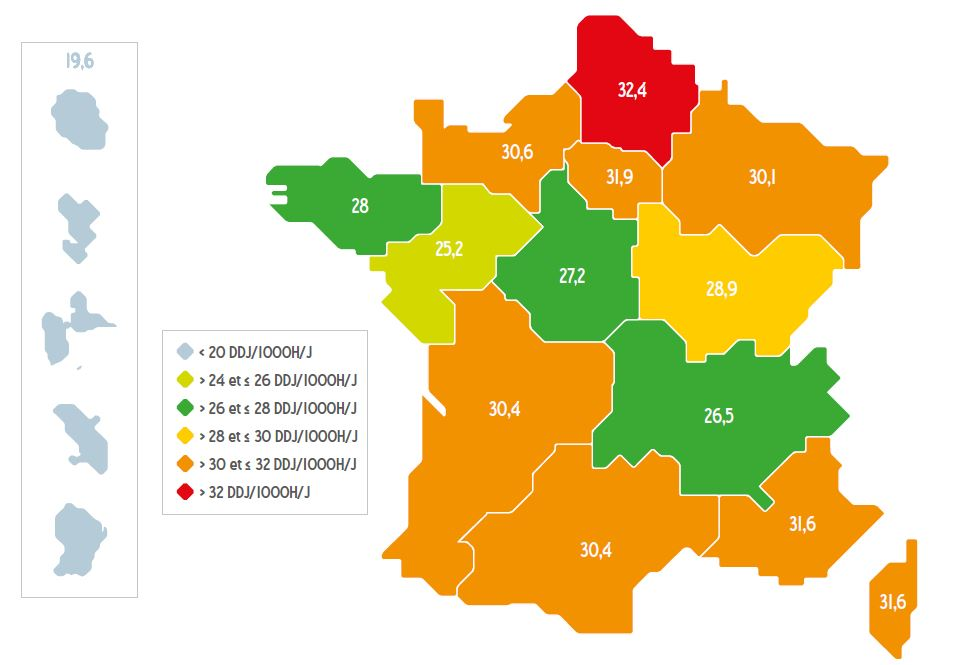 Carte consommation regionale ATB 2015