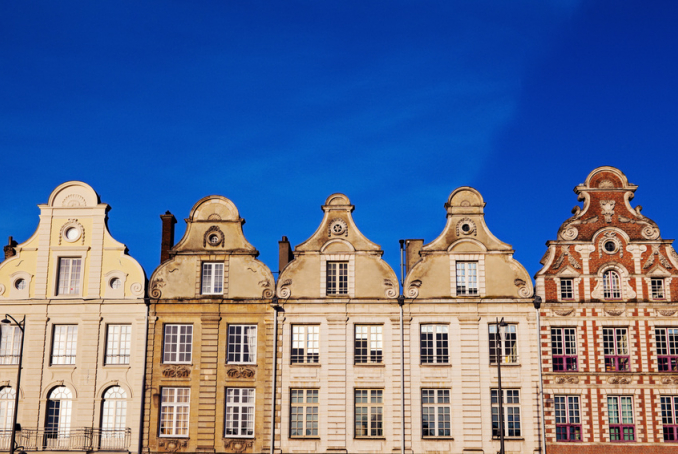 Photos des batiments de la place d'arras